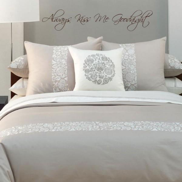 ... voor in uw slaapkamer  Muursticker  Wandsticker  Interieursticker