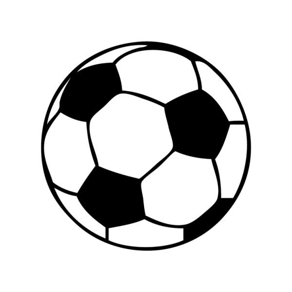 Voetbal  Muursticker  Wandsticker  Interieursticker