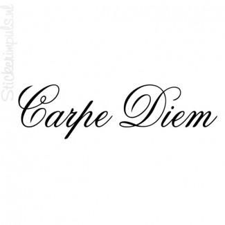 Carpe Diem (pluk de dag)