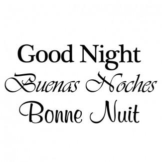 Good Night | 3 talen