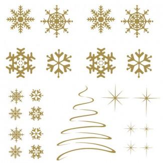 Kerst set 'Cristal Tree'