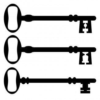 Sleutels 3 verschillende