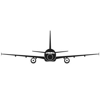 Vliegtuig voorzijde