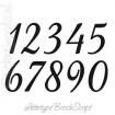 Cijfers / huisnummers