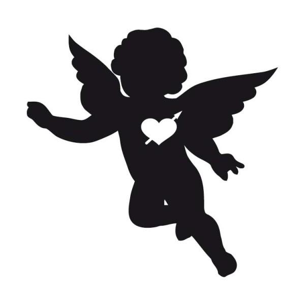 Engel In Love Muursticker Wandsticker Interieursticker