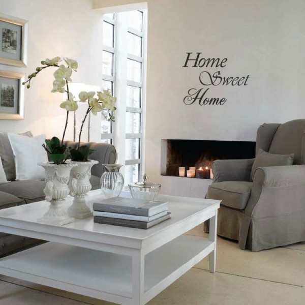 Muursticker Home Sweet Home.Home Sweet Home Muursticker Wandsticker Interieursticker